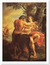 The Education of Achilles by Pompeo Batoni, Canvas, c. 1770.