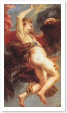 The Rape of Ganymede by Peter Paul Rubens, Canvas, 1577-1640.